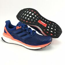 Adidas Mens Energy Boost Royal Blue Solar Orange Running Shoes Size 12