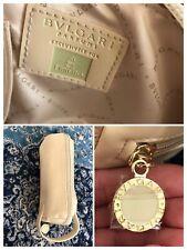 Bvlgari Make Up Bag Wash Bag Emirates Exclusive Cosmetics Storage VGC Beige