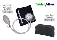 Welch Allyn Ds44 11c Gauge With Durable One Piece Cuff Adult Arm With Case
