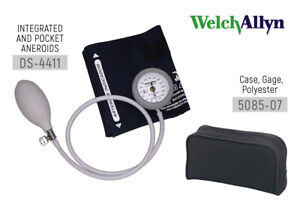 Welch Allyn DS44-11Gauge with Durable One Piece Cuff, Adult Arm