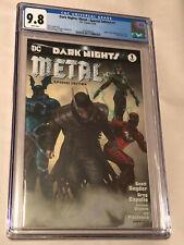 DC Comics 2018 Dark Nights Metal Special Edition #1 Comic CGC Graded 9.8