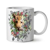 Tiger Cute Nature Animal NEW White Tea Coffee Mug 11 oz | Wellcoda
