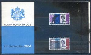 Great Britain 1964 Forth Road Bridge presentation pack fine (2020/07/19#04)