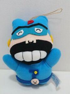 "Time Bokan Yatterman Walther Sunrise 1991 Plush 7"" Toy Doll japan"