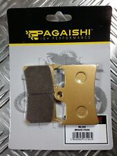 PAGAISHI FRONT PADS FOR Yamaha MT-07 700 A Moto Cage ABS 1XB9 2014 - 2016