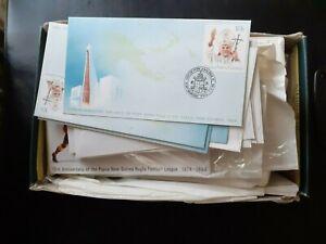 Papua New Guinea. Box of unused Postal Stationery 1980s