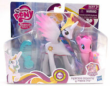 My Little Pony Princess Celestia Pinkie Pie Crystal Empire Set Magic New, Sealed