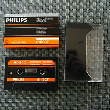 Philips 811 CCT / N Head Cleaning Cassette MC Cleaning Maintenance Tape
