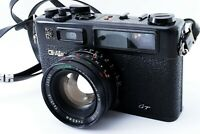 EXC+4 YASHICA Electro 35 GT w/ 45mm f/1.7 Lens Black from JAPAN