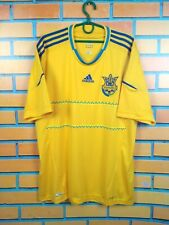 Ukraine jersey 2011 2014 Home XL Shirt Adidas Football Soccer X11627
