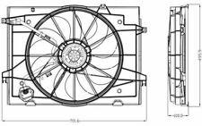 NRF Ventilateur moteur pour HYUNDAI TUCSON 47285 - Pièces Auto Mister Auto