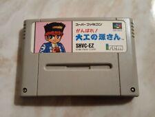 HAMMERIN' HARRY per Nintendo Super Famicom (Ganbare Daiku no Gensan SNES SFC)