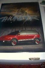 1998 Pontiac Montana Thunder Concept Press Kit