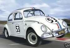 """1963 Volkswagen Beetle """"HERBIE THE LOVE BUG"""", Refrigerator Magnet, 40 MIL"""