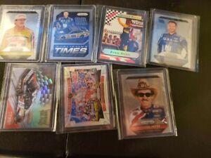 NASCAR LOT (RICHARD PETTY, DALE EARNHARDT, TONY STEWART, DANIKA PATRICK)
