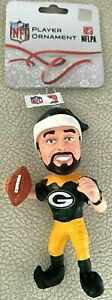 Aaron Rodgers Elf Christmas Ornament Green Bay Packers