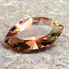 COPPER-PINK-GREENISH OREGON SUNSTONE 5.56Ct FLAWLESS-FOR HIGH-END JEWELRY!