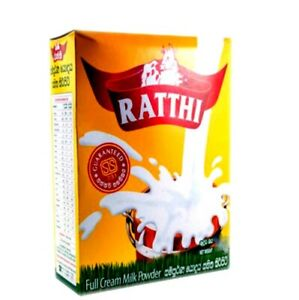 Full Cream Milk Powder Raththi Nutrition Fresh Morning Bed Tea Vitamin AC Energy