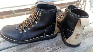 Mens Leather Clarks Originals Walking Boots UK 10