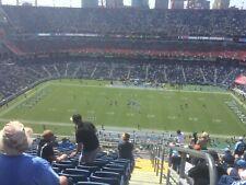 4 Midfield Tickets Tennessee Titans vs Jacksonville Jaguars 9/20