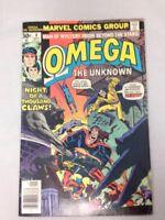 Omega The Unknown # 4  Marvel Comics September 1976 Howard Chaykin GD