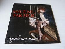 MYLENE FARMER - CD 2T / 2 track CD !!! APPELLE MON NUMERO !!!