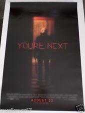 SDCC Comic Con 2013 EXCLUSIVE Lionsgate YOU'RE NEXT Horror Movie poster