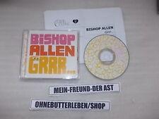 CD Indie Bishop Allen-Grrr (13 chanson) promo Dead Oceans + presskit