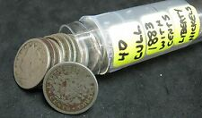 """(1) Roll (40) Cull 1883 with Cents Liberty """"V"""" Nickels"""