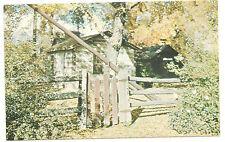 Rare: Provo Utah Pioneer Log Cabin, Sowiette Park, Vintage Unused/New Postcard