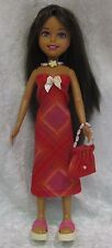 STAR TEAM STACIE & Whats Her Face Doll Clothes #19 Dress, Purse & Necklace Set