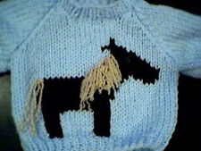 Customized Horse Sweater Handmade for 18 inch American Girl Doll Made in USA