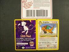 POKEMON Dragonite #5 The First Movie Black Star Promo Set Trading card