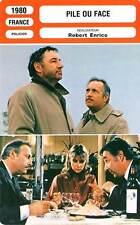 FICHE CINEMA : PILE OU FACE - Noiret,Serrault,Dorothée,Enrico1980 Heads or Tails