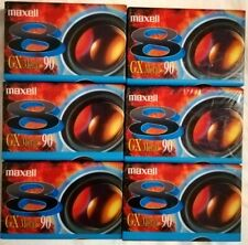 6 x MAXELL GX METAL 90 - CAMCORDER VIDEOCASSETTE TAPES SEALED