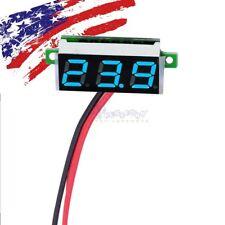 Mini blue DC 3.5-30V LED Display Digital Voltage Voltmeter Panel Breadboard