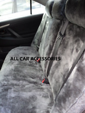 Tailor made Sheepskin( Lambswool) Rear Car Seat Covers 30mm TC , 5 Colours