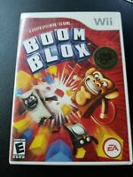 Boom Blox - Nintendo Wii - Clean & Tested Working - Free Shipping