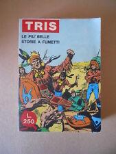 TRIS Le Più belle storie di Fumetti n°9 1971 Collana Hombre Stormo [G754] BUONO