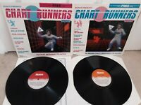 """Chart Runners Parts 1 & 2 12"""" Vinyl Compilation Albums Various Artists 1983"""
