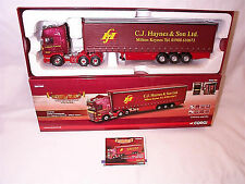 Scania R Curtainside C.J.Hayes & Sons ltd CC13739 New Limited edition