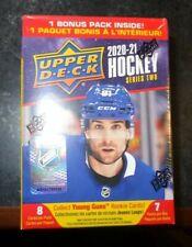 2020-21 Upper Deck Series 2 Hockey HUGE Factory Sealed Blaster Box-YOUNG GUN RC