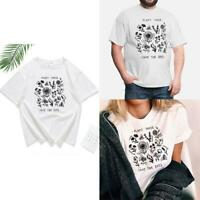 Plant These T-shirt Floral Graphic T Shirts Women Grunge Clothing Save The J5X0