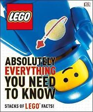 LEGO Absolutely Everything You Need to Know by DK (author)stacks of lego facts