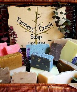 "Tanners Creek Homemade Soap ""Sulfur Soap""  Anti Acne  -  Complexion Soap Bar"