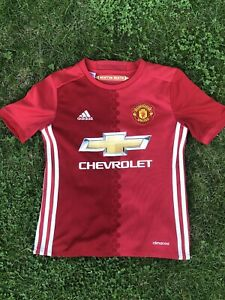 Manchester United 2016/17 Home Shirt Szie Youth L Ibrahimovic 9