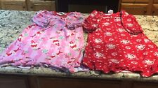 Girls Clothing Lot B Size 4 - 2 Elf on the Shelf Nightgowns