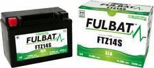Fulbat YTZ14S 12V 11,2Ah Batería de Repuesto para Motocicleta - Negra