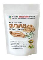 Shatavari Extract Powder (High Strength Extract 20% Saponins) Choose Size
