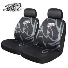 Holden Racing Team HTR 2 Front Seat Covers Black